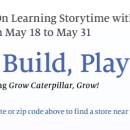 Lego Storytime at Barnes & Noble on May 22nd