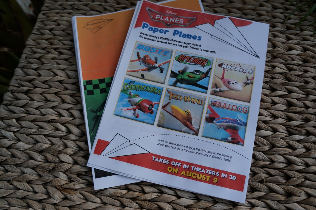 flying high with dad and disney planes paper airplane printables oc mom blog. Black Bedroom Furniture Sets. Home Design Ideas