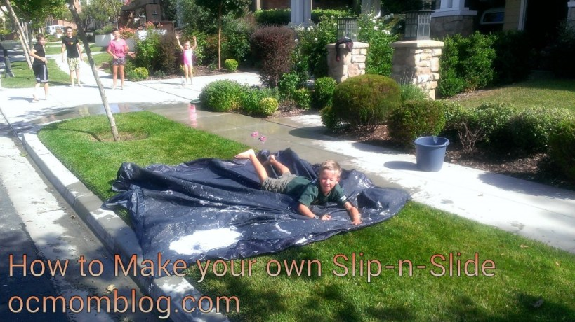 make your own slip n slide