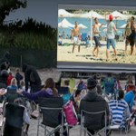 Newport Dunes Summer Movies on the Beach