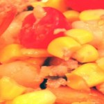 Shrimp Corn and Tomato Basil Summer Salad Recipe
