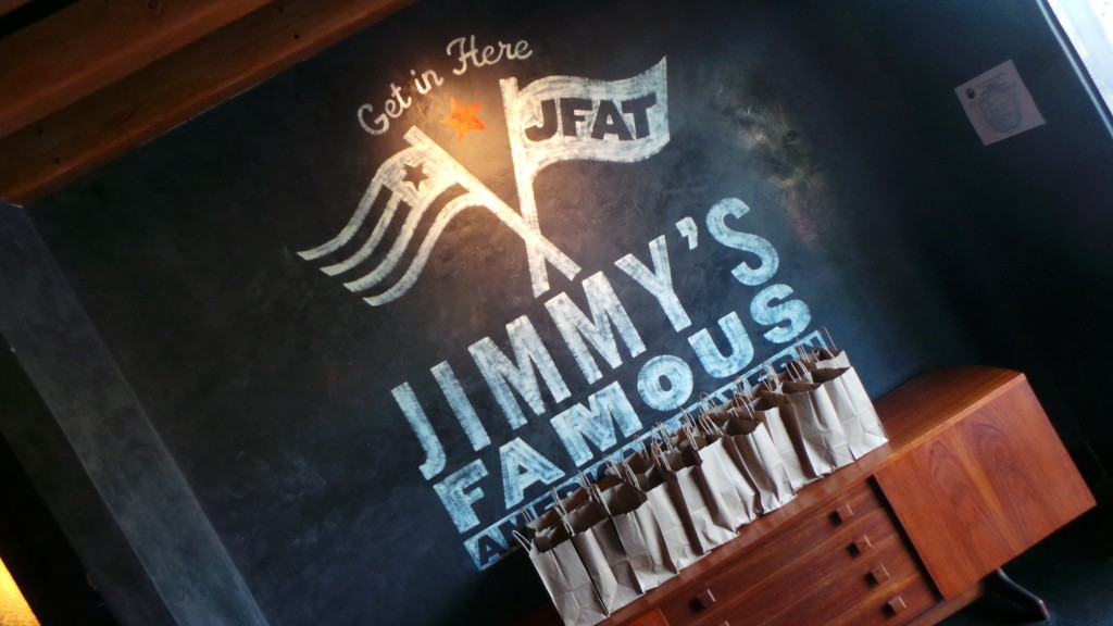 Welcome Jimmy's famous american tavern