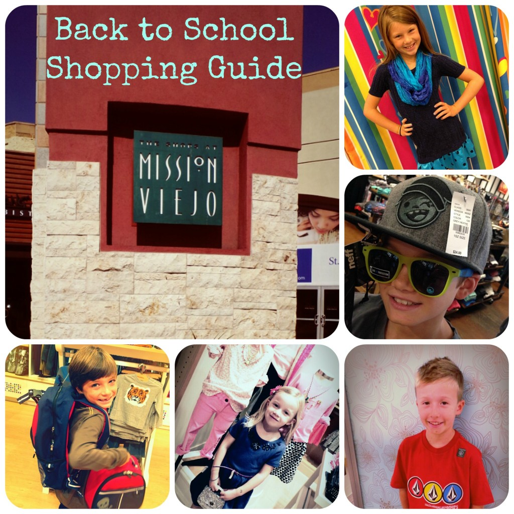 Back to School Shopping at The Shops at Mission Viejo