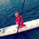 Building Confidence Paddle Boarding with Pirate Coast Paddle