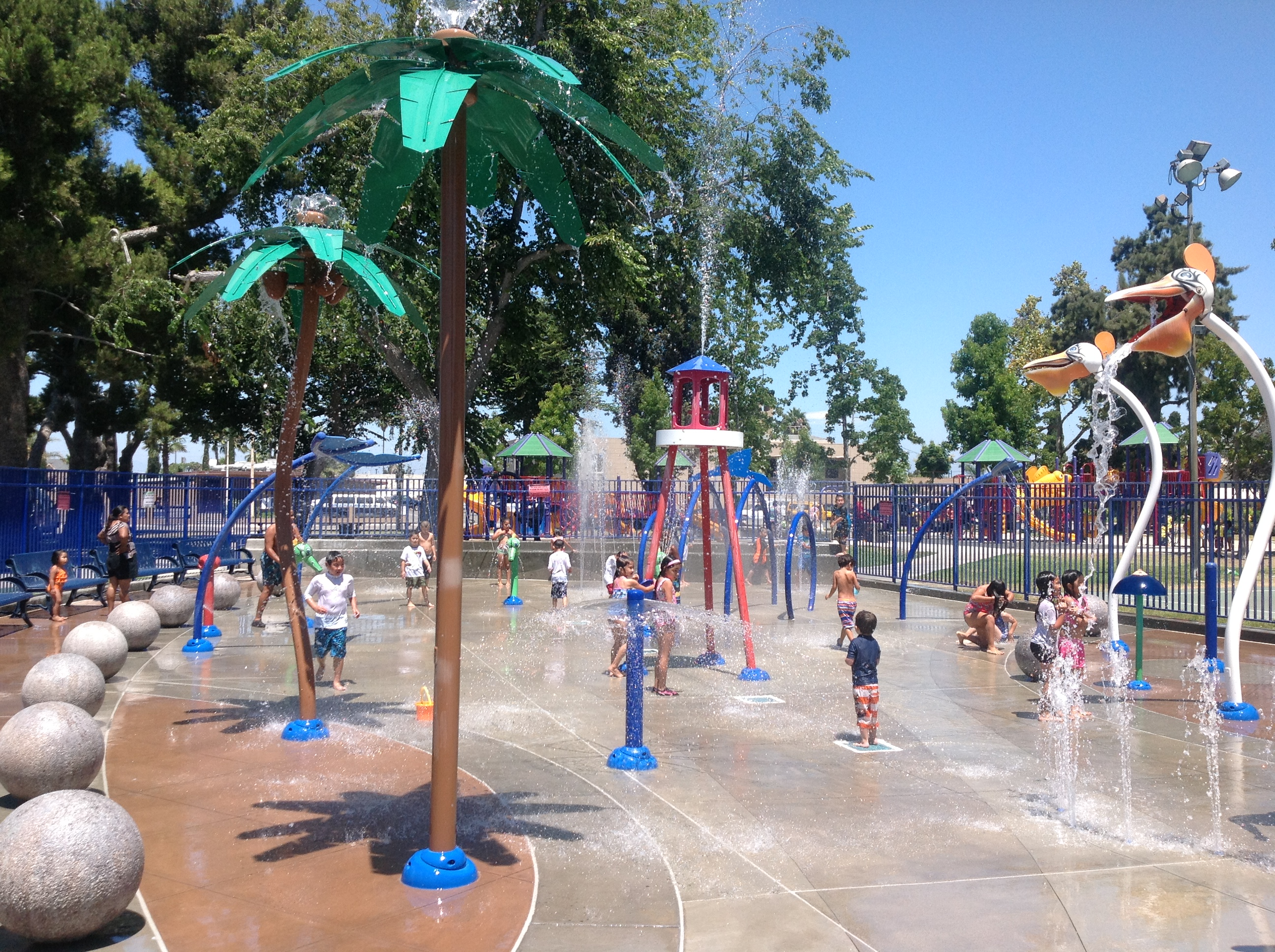 Pompano Beach Splash Pad Hours