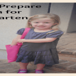 How to Prepare Children for Kindergarten