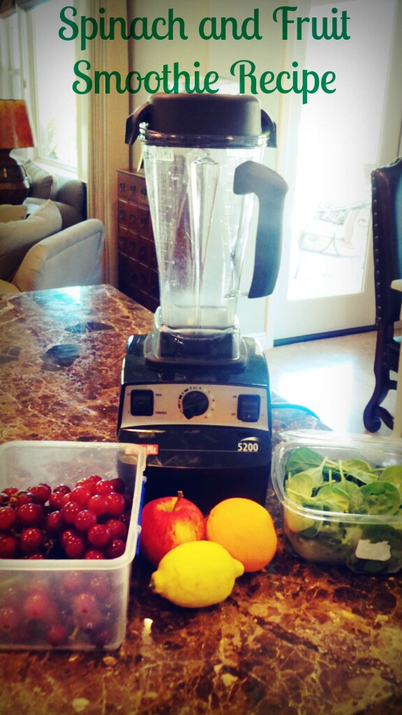 spinach and fruiit smoothie recipe