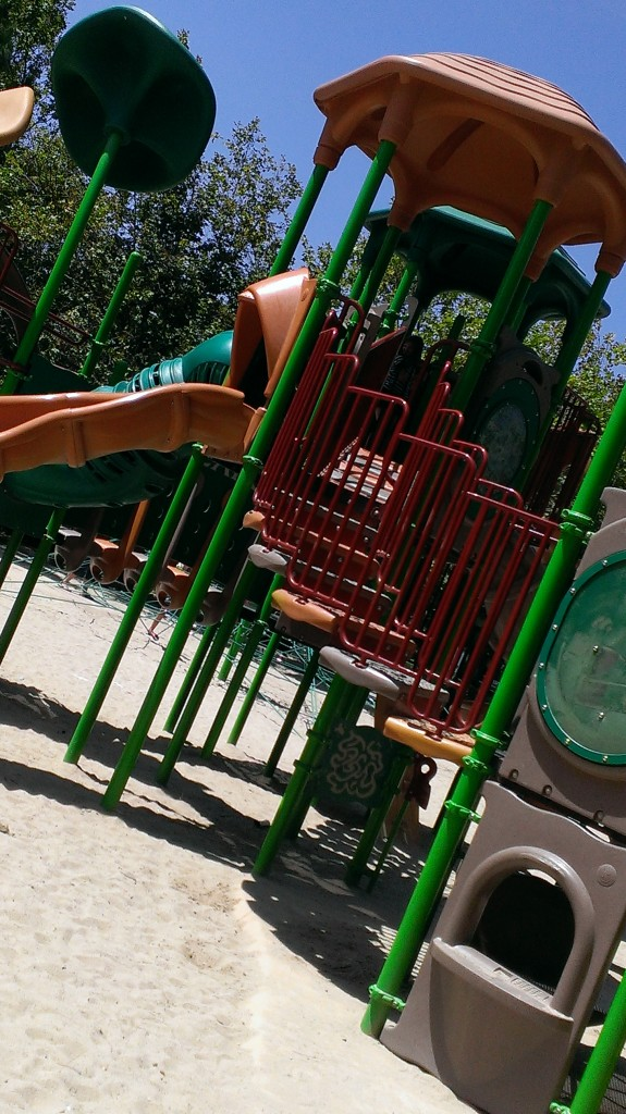 Slide at Central Park in RSM