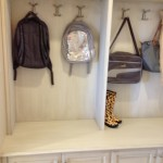 Mudroom - perfect for your kids' drop spot!
