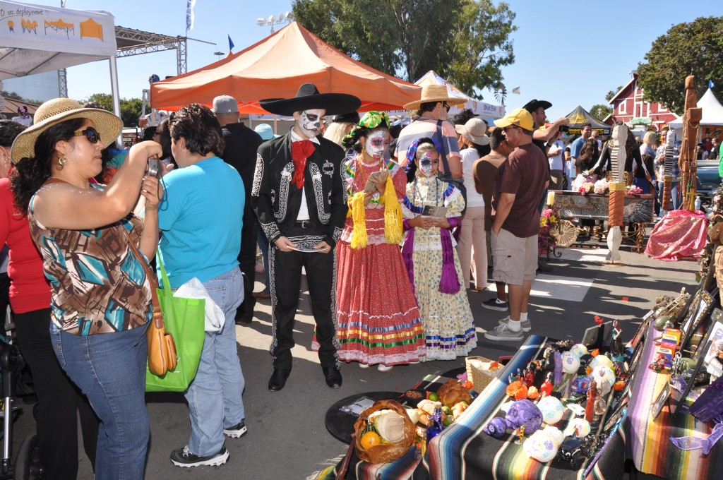 Trick or Treat Festival Day of the Dead Displays