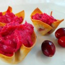 Cranberry Cheese Wonton Appetizers