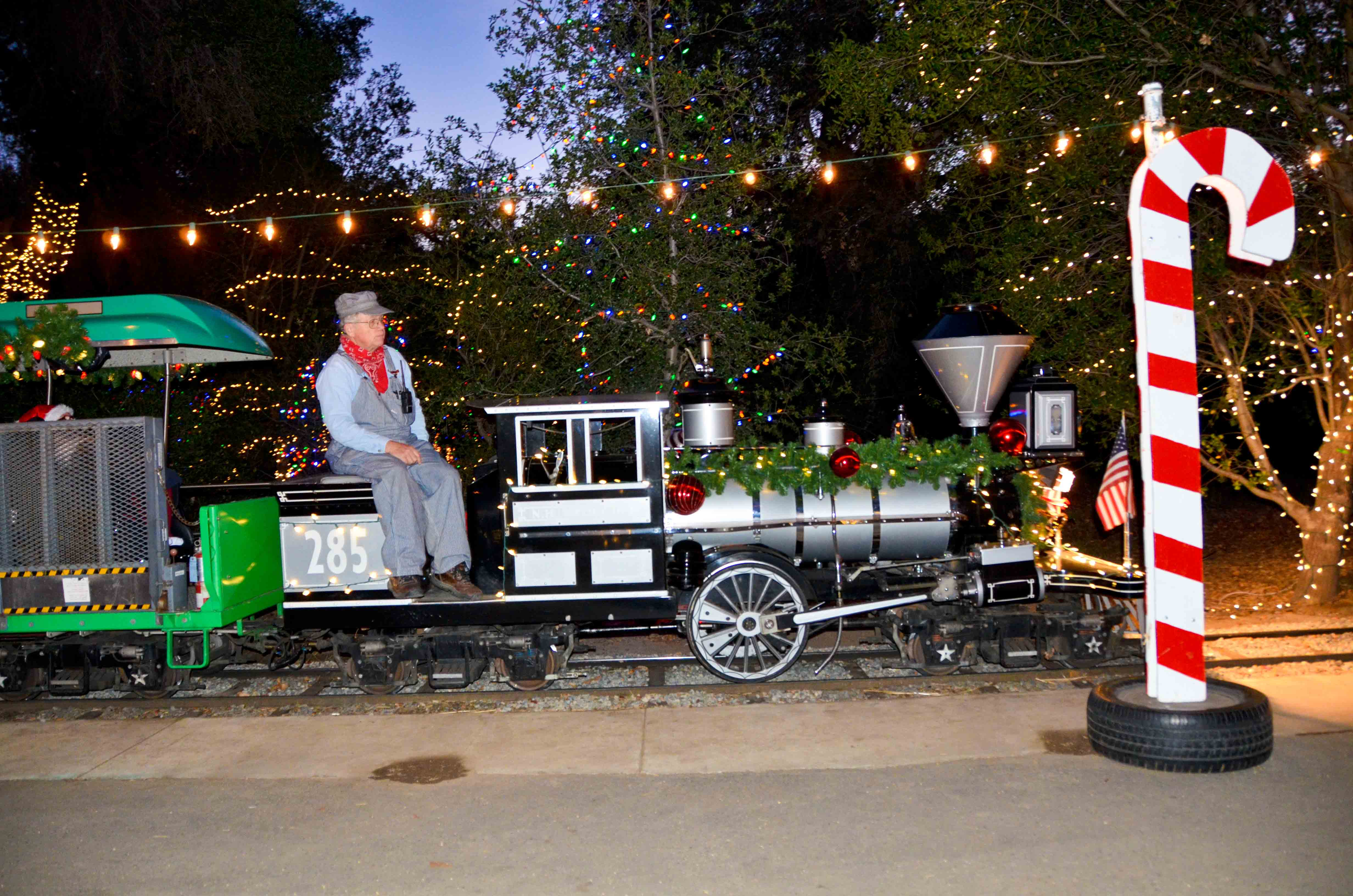 Guide to Visiting the Irvine Park Railroad Christmas Train | OC ...