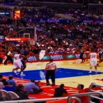 Basketball Smiles at The Los Angeles Clippers