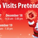 Come Visit Santa at Pretend City