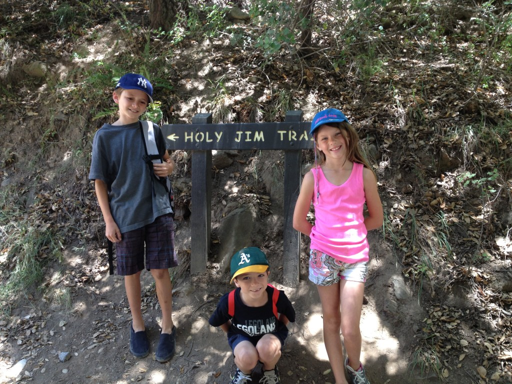 Holy-jim-Trailhead