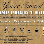 You are invited: Camp Project Hope at SOCO