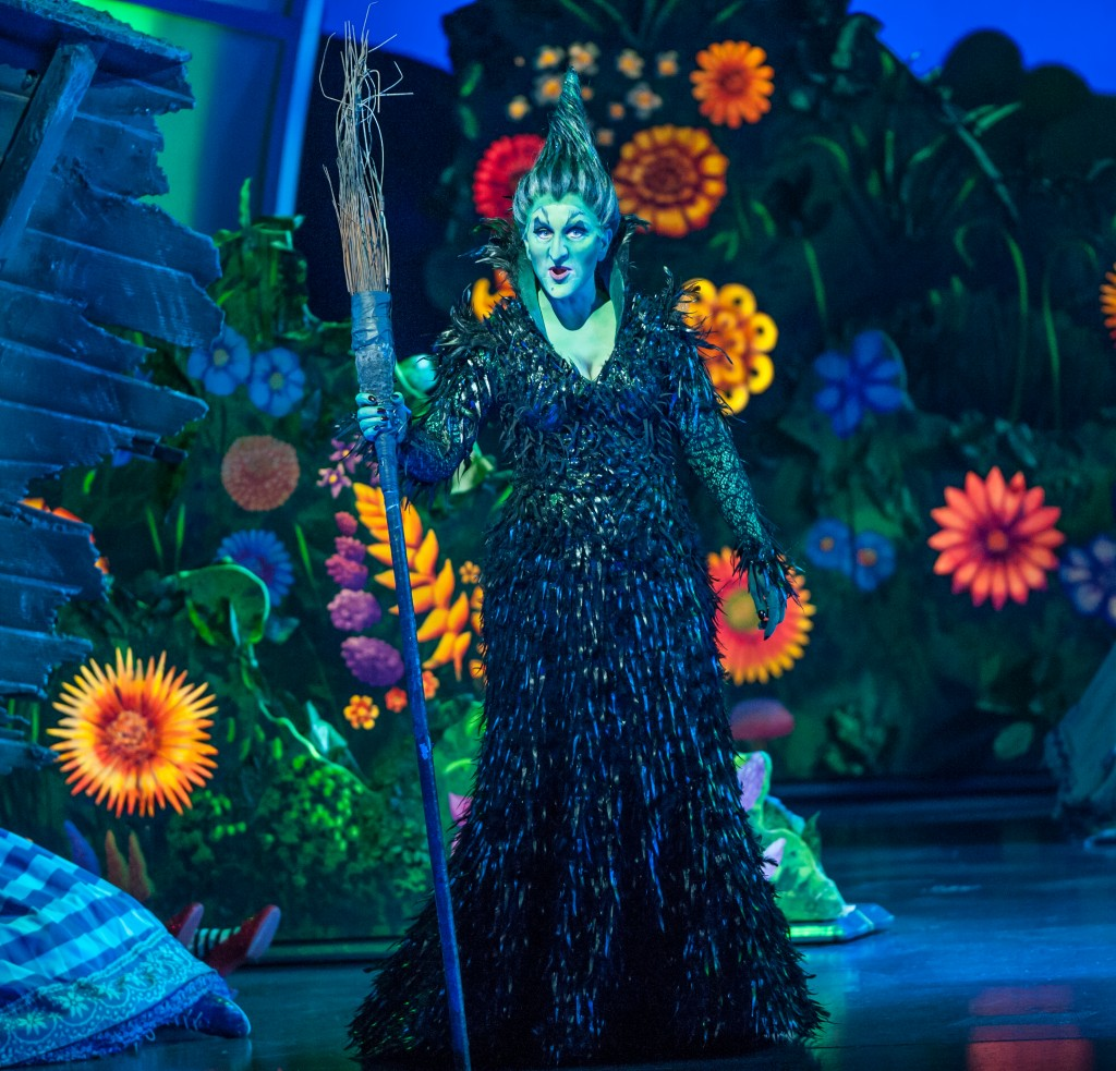 Jacquelyn Piro Donovan as the Wicked Witch of the West. Photo by Tom Donoghue - Donoghue Photography