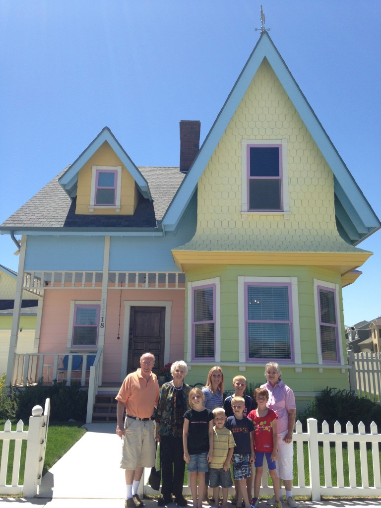 The front of the UP House in Utah