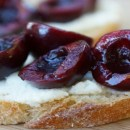 Sweet Cherry Bruschetta Recipe