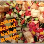 Summer Italian Bread Salad Recipe