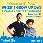 'When I Grow Up Day' at Pretend City