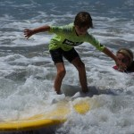 Learning How to Surf at Paradise Point Resort