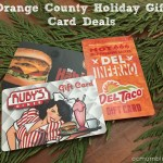 Orange County Holiday Gift Card Deals