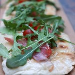 Garlic and Prosciutto Flatbread Recipe