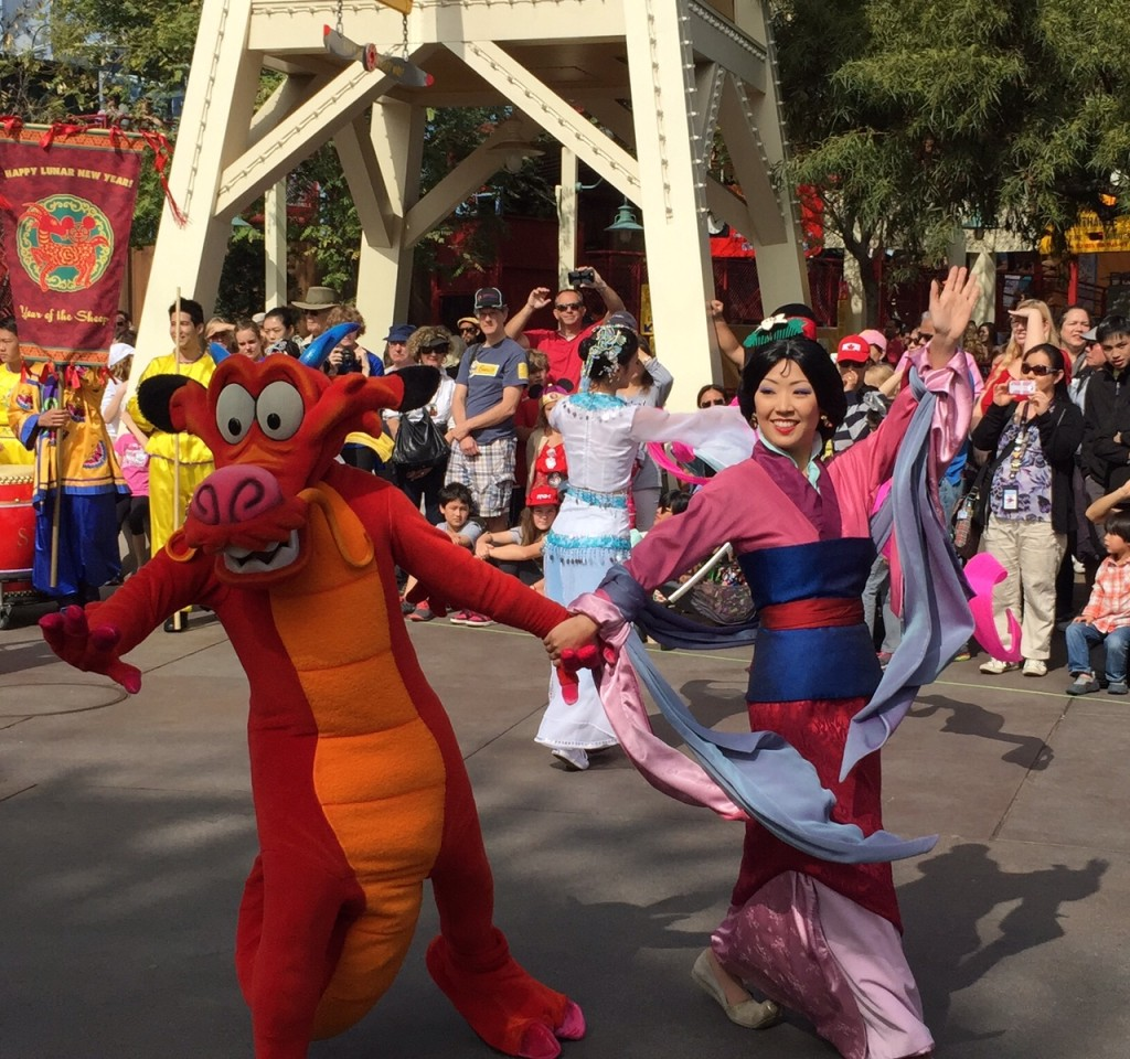 Disneyland Lunar New Year 9