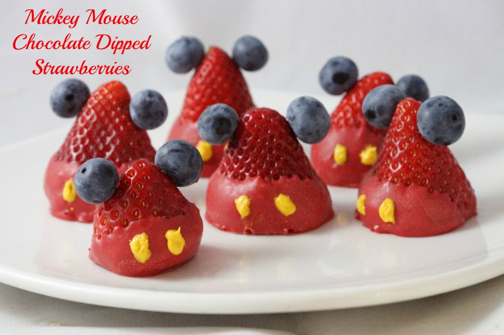 Mickey Mouse Strawberries 2
