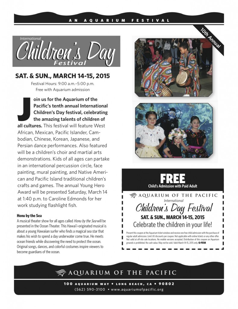 Children's Day 2015 Flyer H
