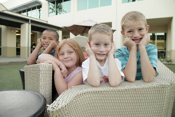 Children currently living at the Orange County Rescue Mission's Village of Hope