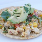 Delicious Chicken Tostada Recipe