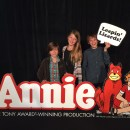 Leapin' Lizards! Annie Comes to Orange County