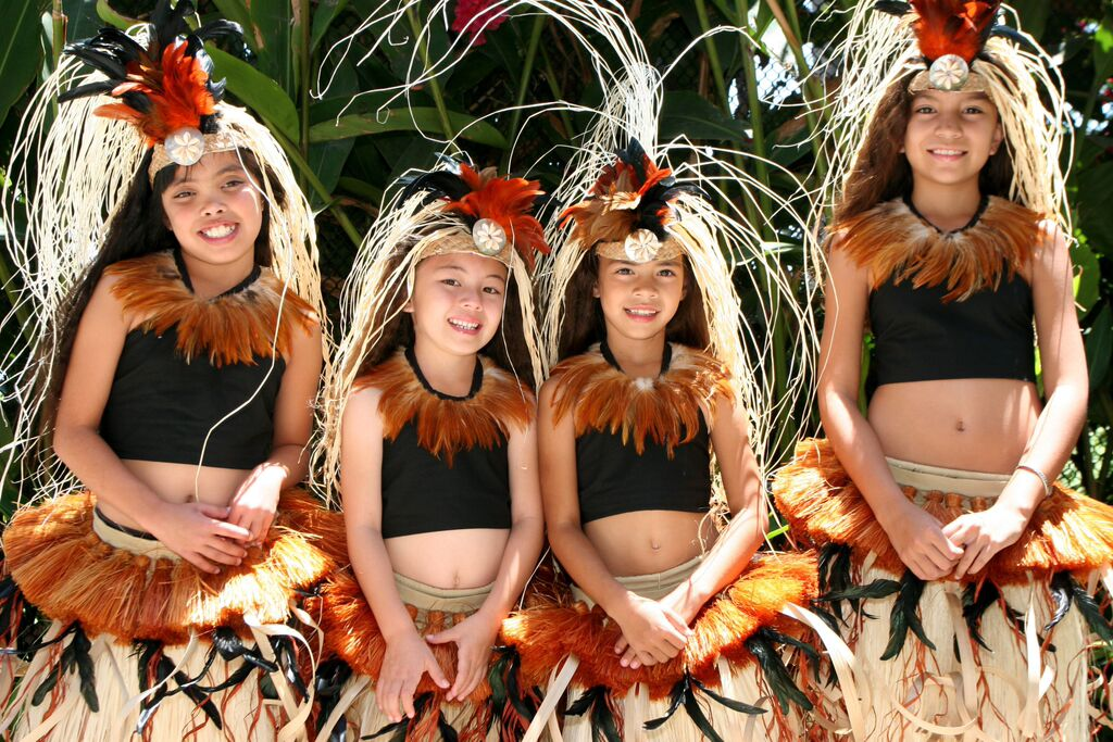 Hot pacific islander girls