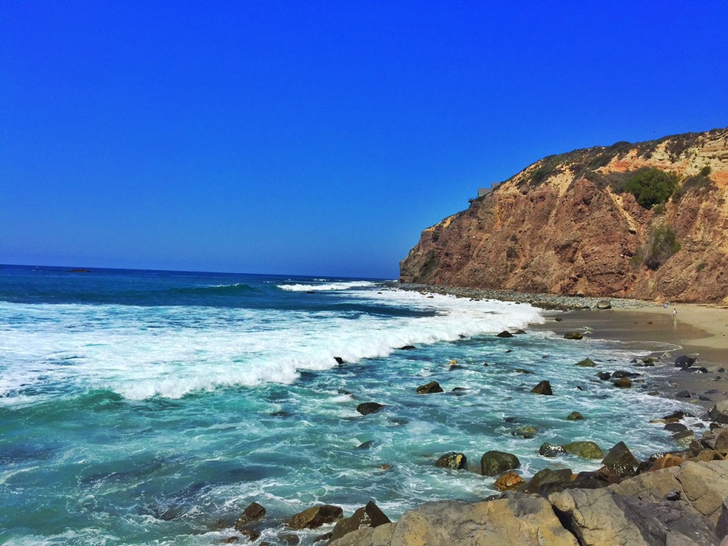 Dana Point Beach Behind Ocean Institute