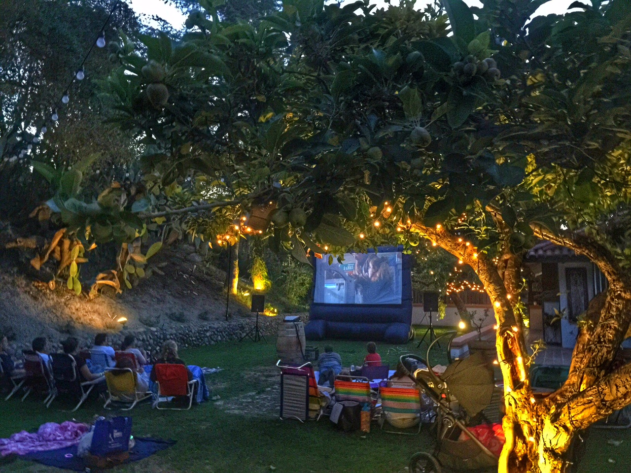 hotel irvine summer movie nights in the backyard oc mom blog