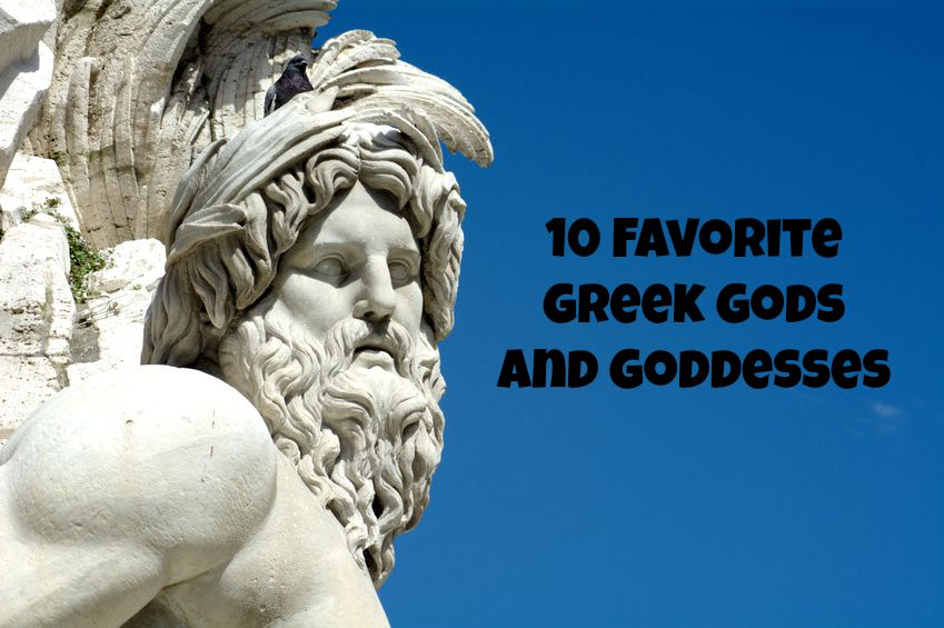 10 Favorite Greek Gods And Goddesses Oc Mom Blog Oc