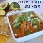 Chicken Tortilla-less Soup Recipe