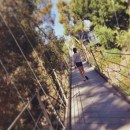 Spruce Street Suspension Bridge in San Diego