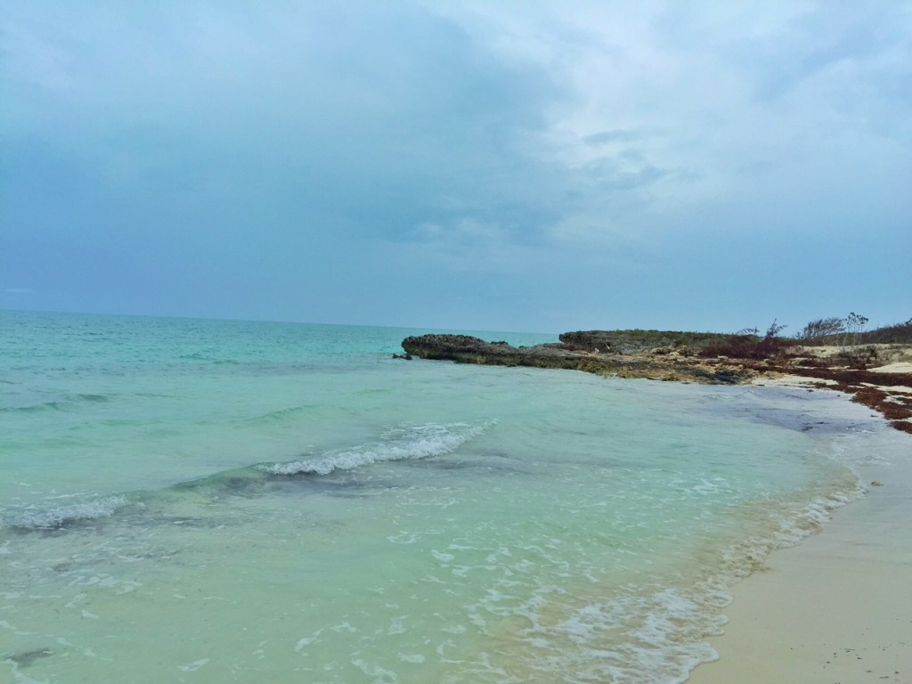 Beautiful beach in the Turks and Caicos