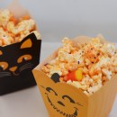 FrankenMunch: Chocolate Covered Candy Corn Popcorn
