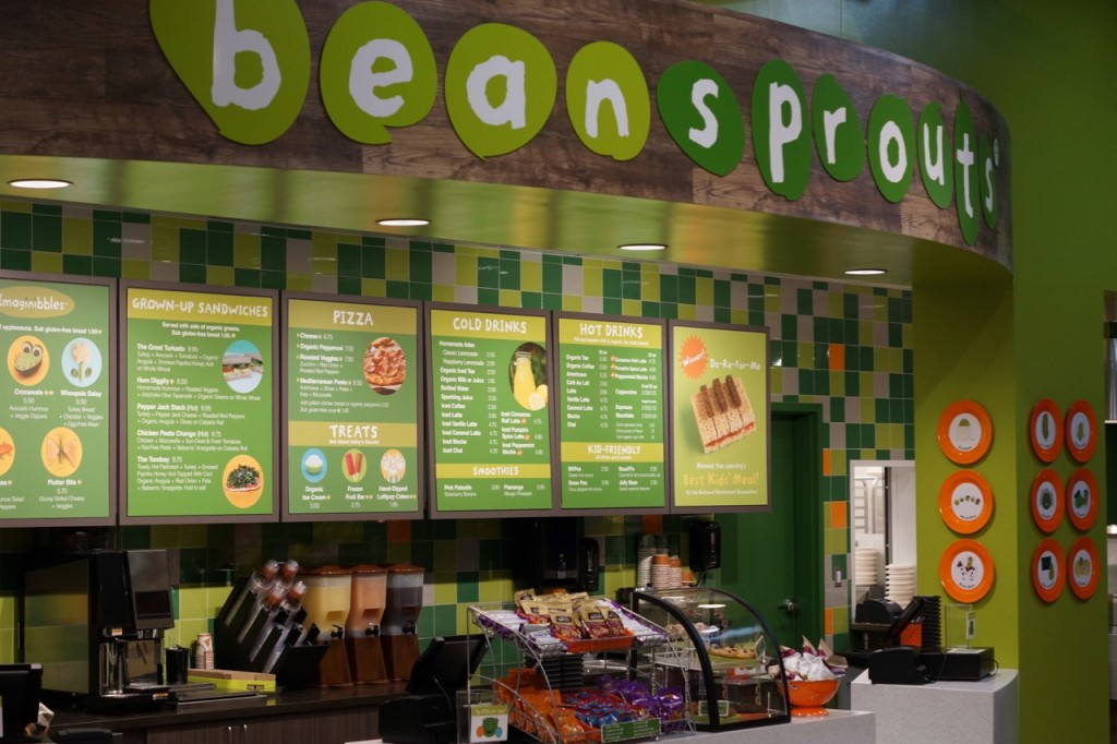 Bean Sprouts Cafe at Discovery Cube OC #DiscoveryCubeMoms