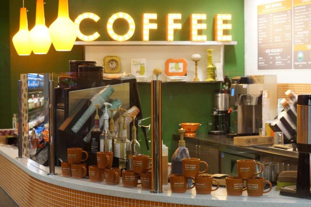 Coffee Bar at Discovery Cube OC #DiscoveryCubeMoms