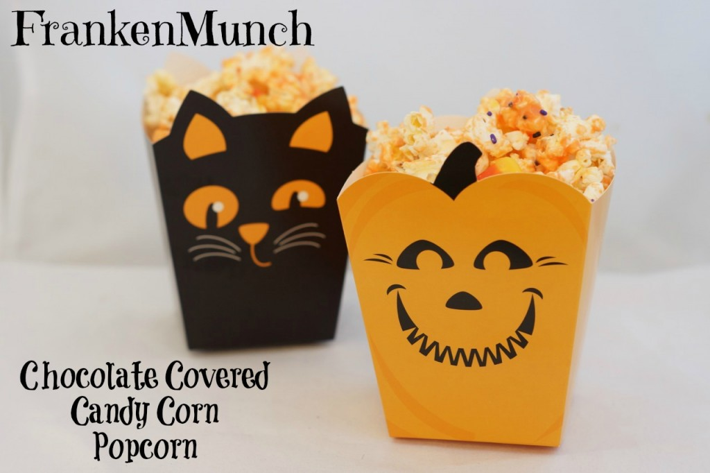 Chocolate Covered Candy Corn Popcorn