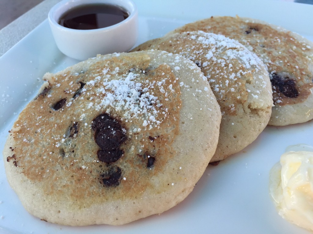 Chocolate Chip Pancakes at Beaches Turks and Caicos