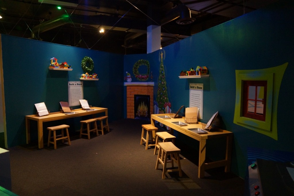 Build a gingerbread house at Discovery Cube OC