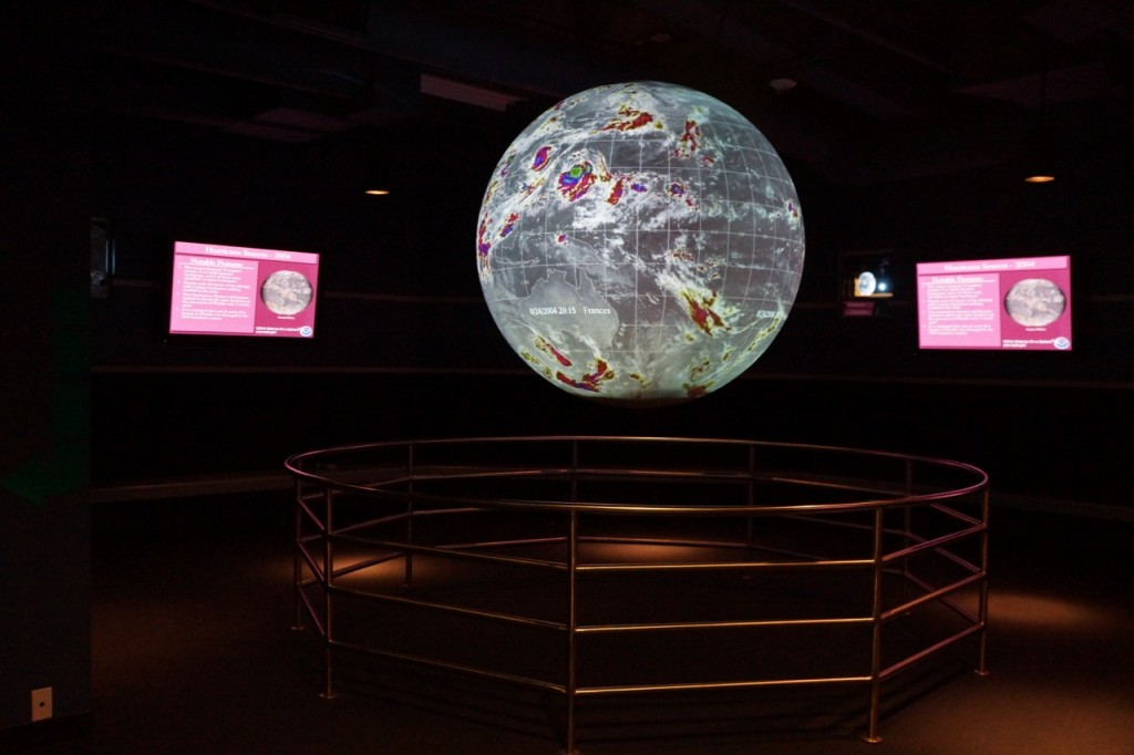 Learning about the world at Discovery Cube OC