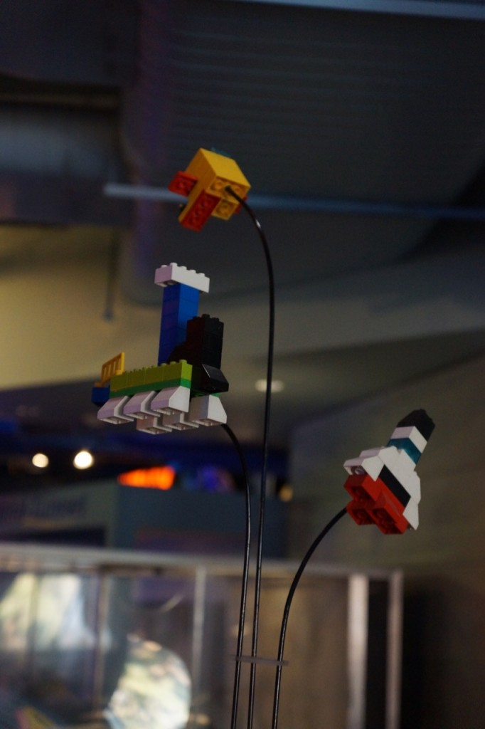 Space Lego fun at Discovery Cube OC