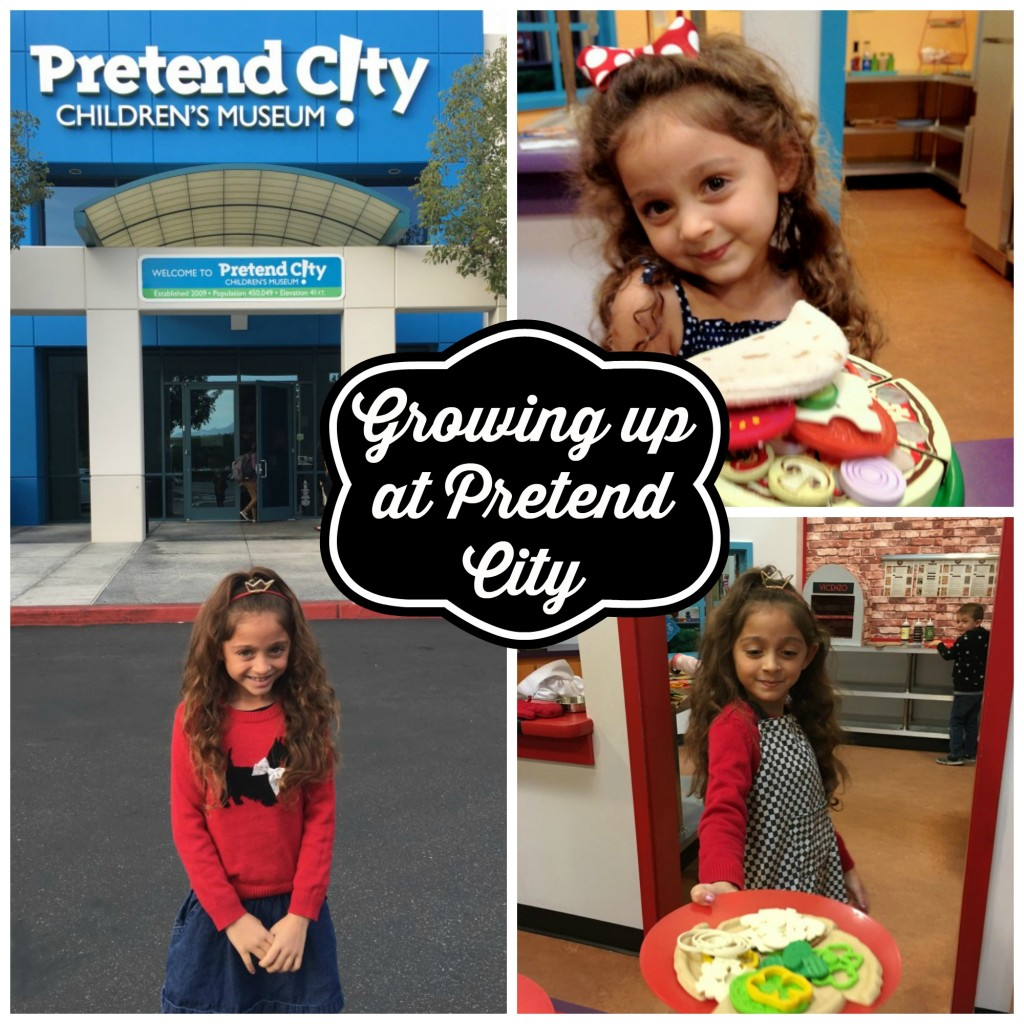 Growing up at Pretend City